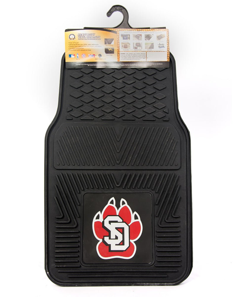 Set of Heavy-Duty Vinyl Car Mats