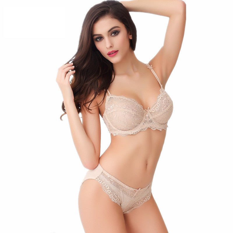 Sexy Push Up Bra Lingerie Set