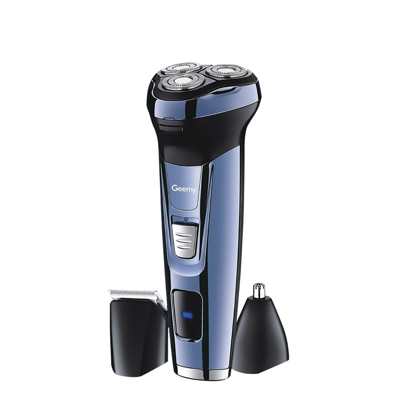 3 in 1 Rechargeable Electric Shaver