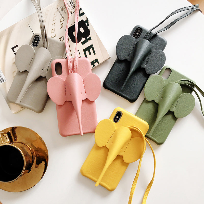3D Elephant iPhone Case
