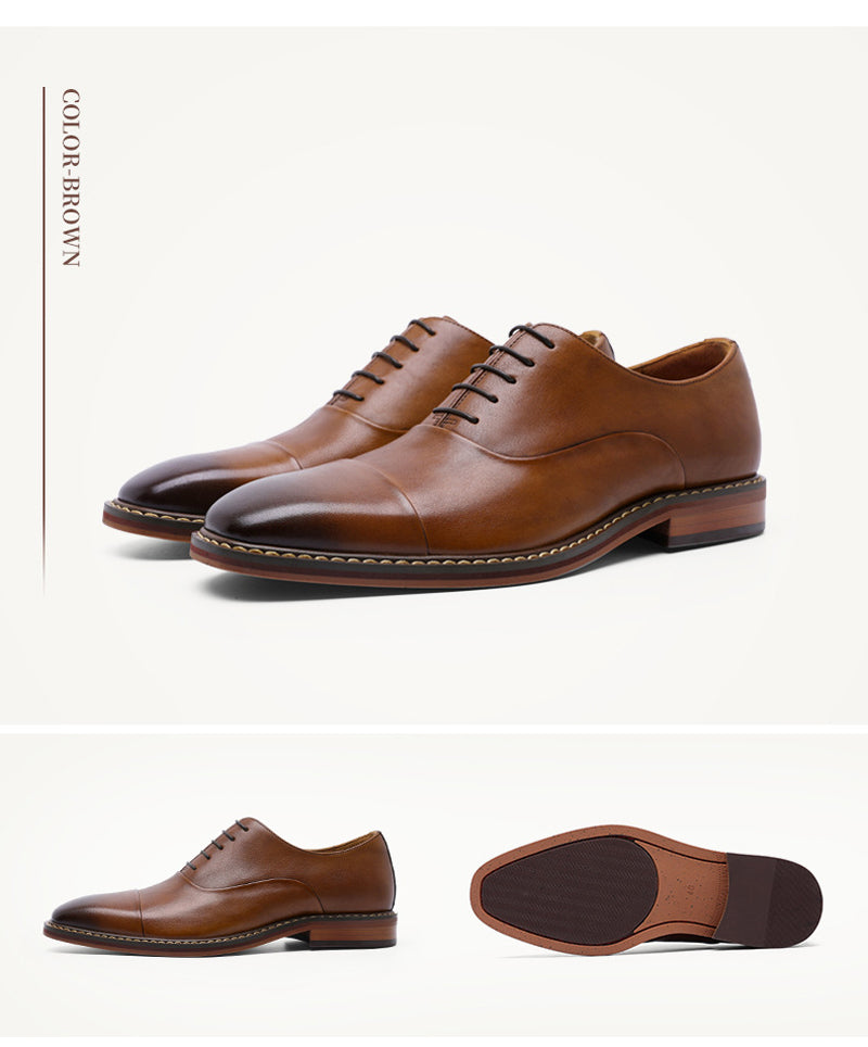 Genuine Leather Business Dress Shoes