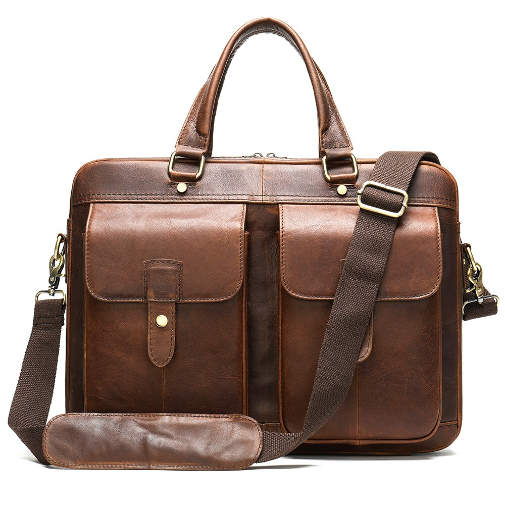 Genuine Leather 15 inch Laptop Bag