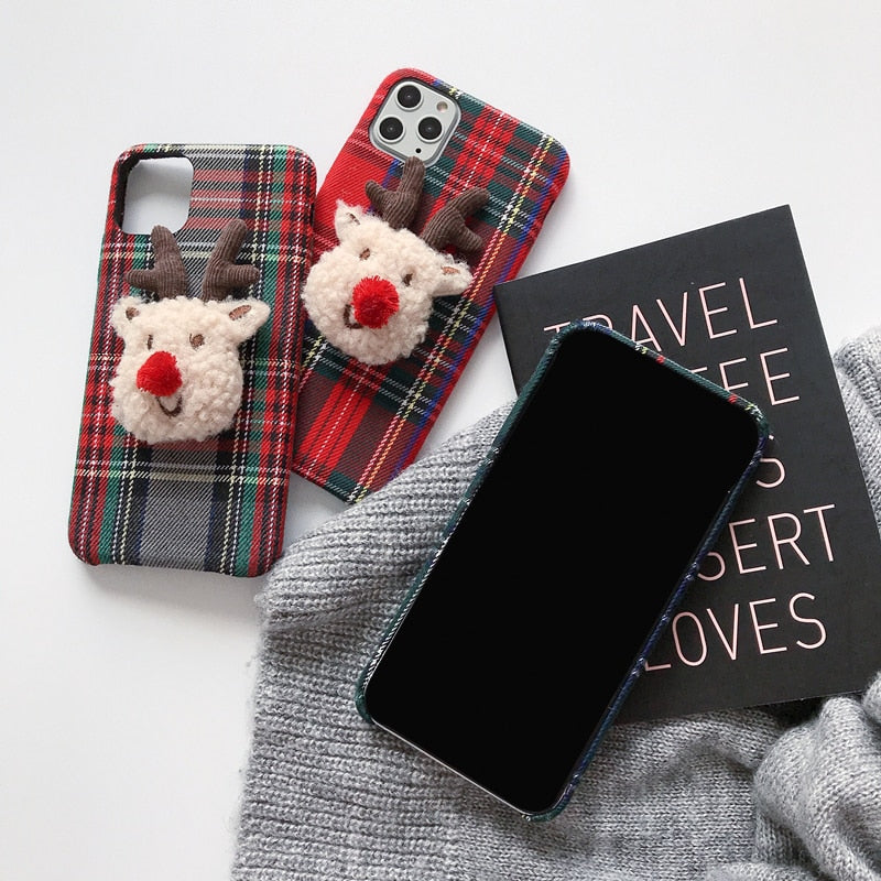 Cute iPhone Fabric Soft Case