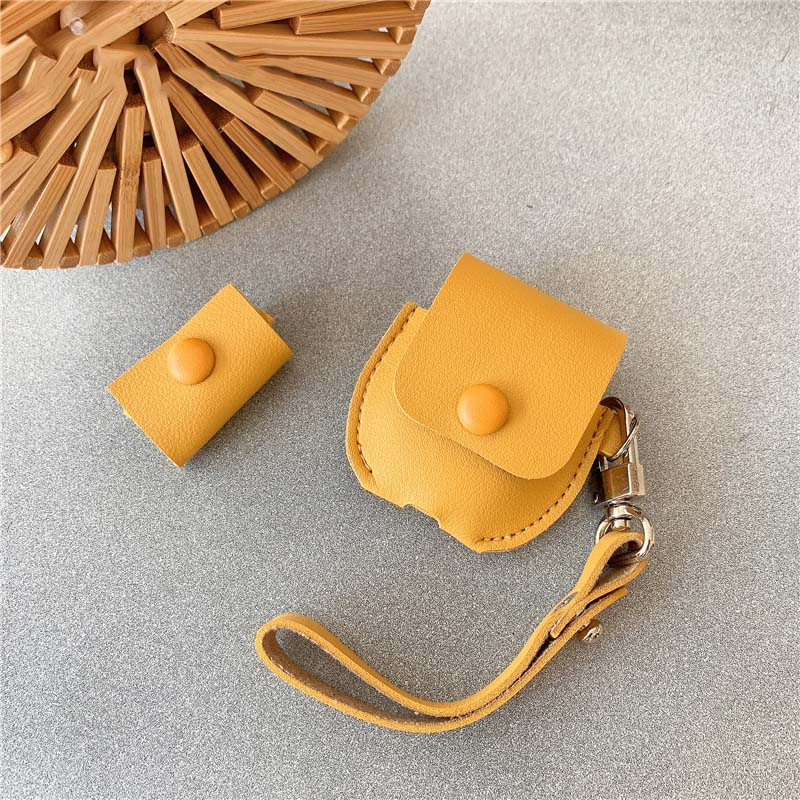 AirPods Leather Protective Cover