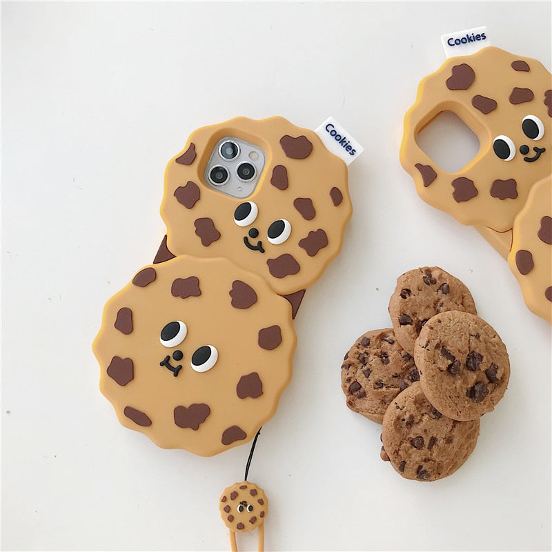Funny Cookies Silicone iPhone Soft Case