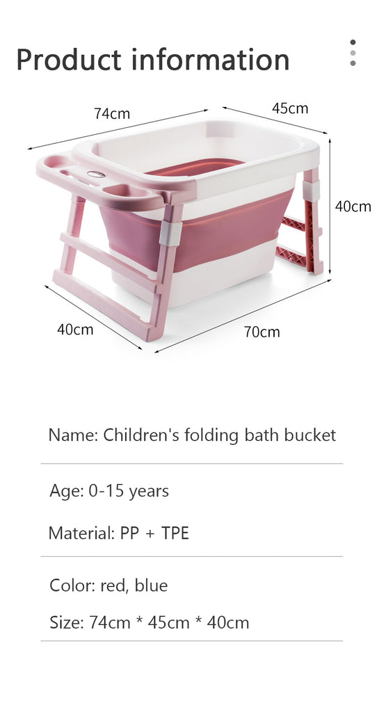 Baby Bathtub With Temperature Sensor