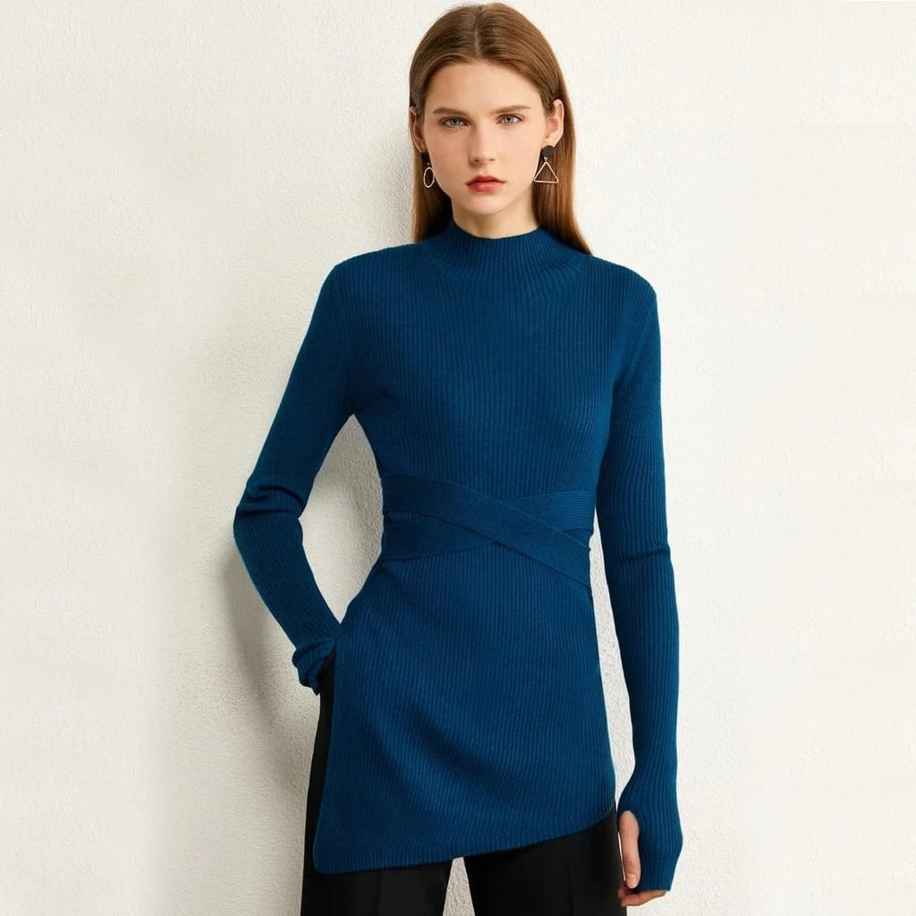 9raMyjrZNkiGe1Hb4j1 Turtleneck Slim Fit Sweater