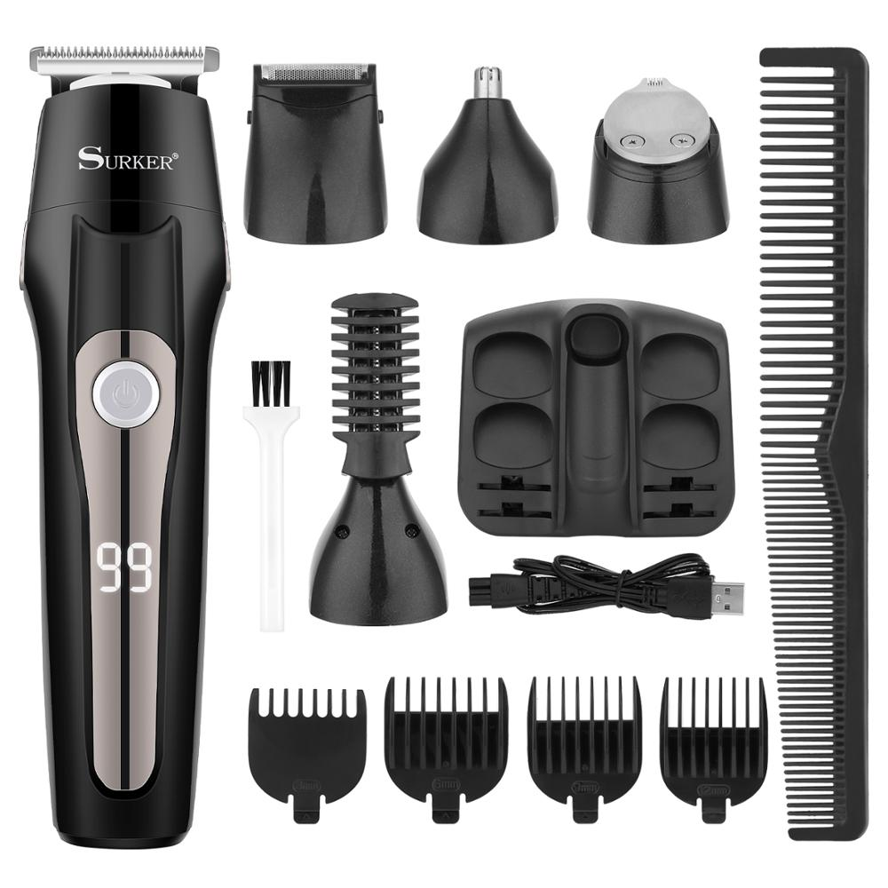 5 in 1 Rechargeable Professional Hair Clipper