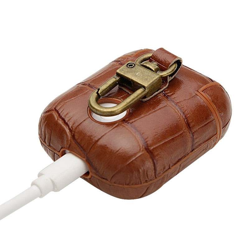 Luxury Genuine AirPods Case