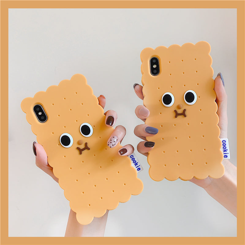 Cookie Pattern iPhone Soft Silicone Case