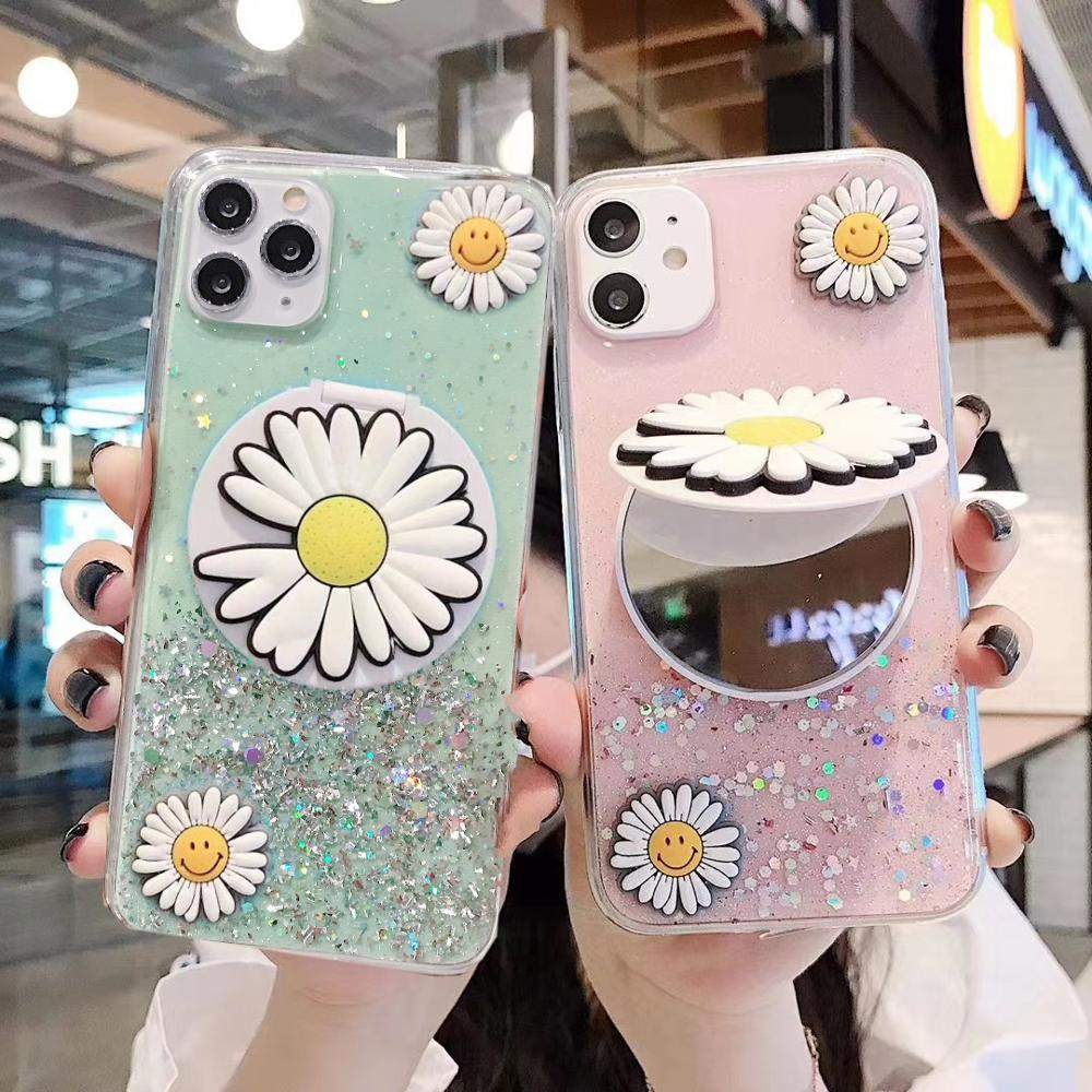 3D Makeup Mirror Samsung Phone Case