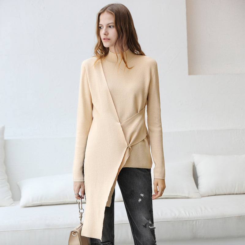 Turtleneck Slim Fit Long Sleeve Sweater