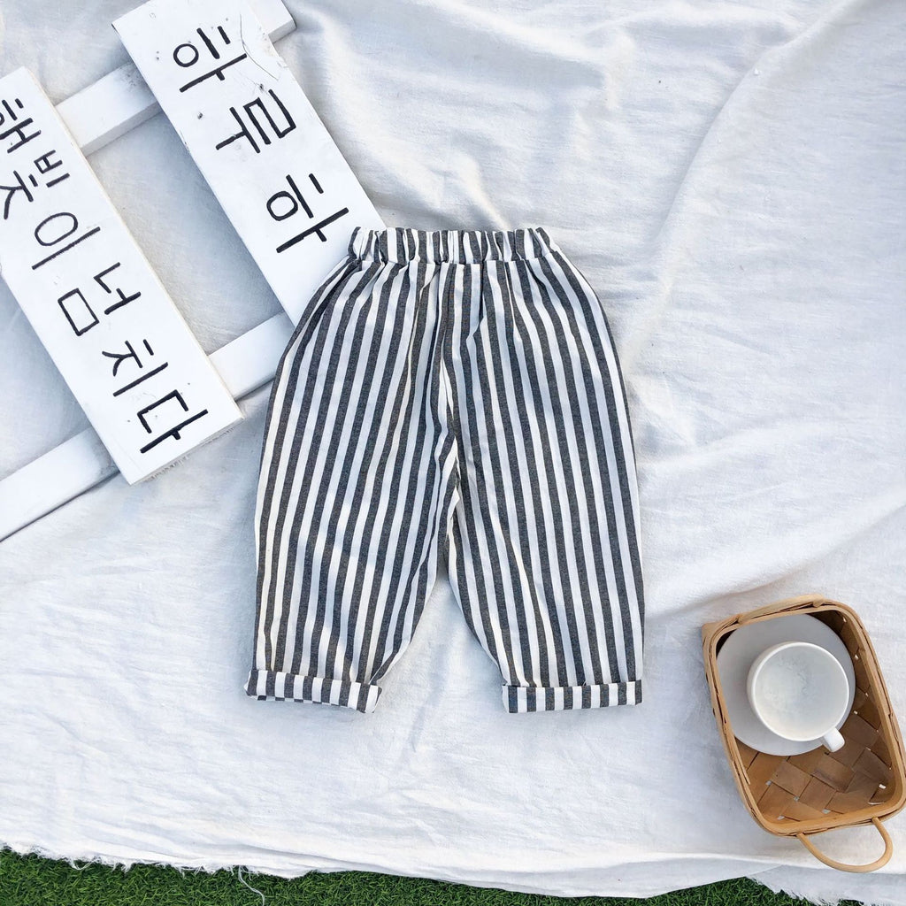 Halen Striped Casual Trousers