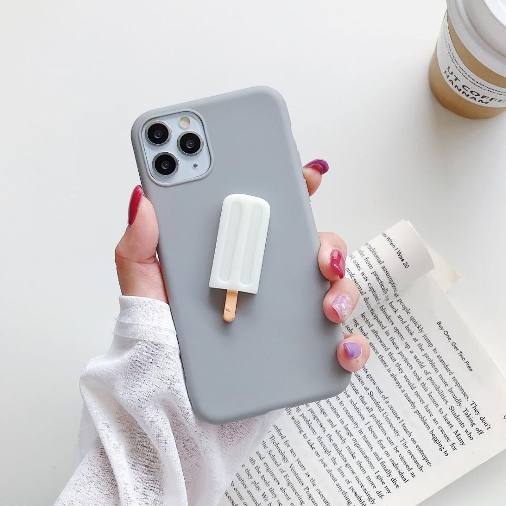 3D Ice Lolly Soft Redmi Phone Case