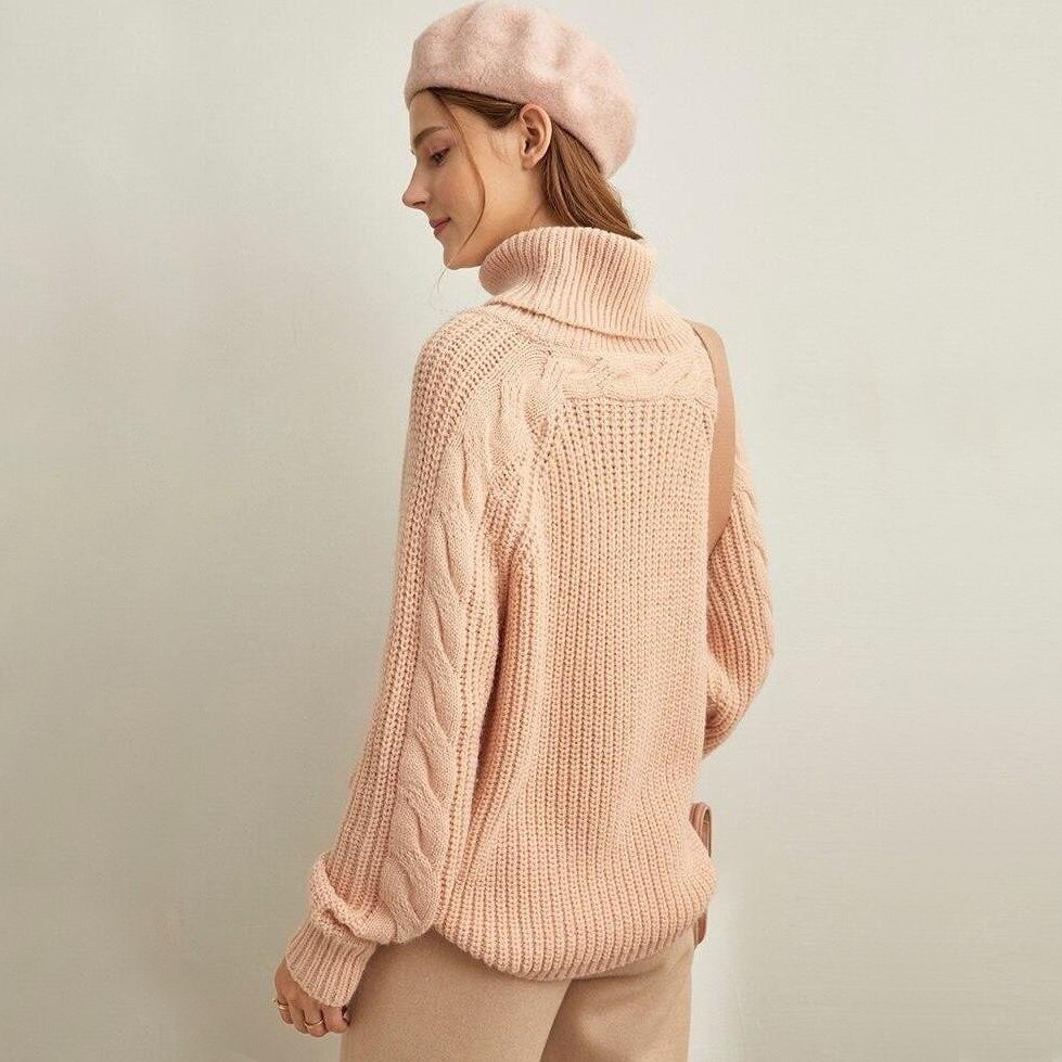 Turtleneck Pullover Top