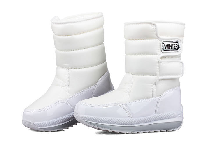 Plush Mid-calf Snow Boots