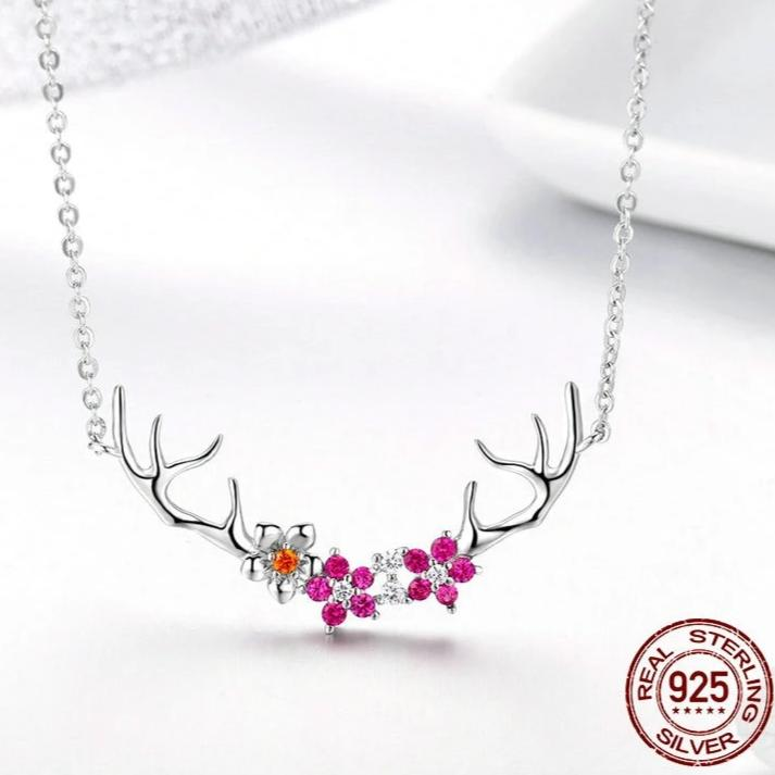 Sterling Silver Pendants Necklace