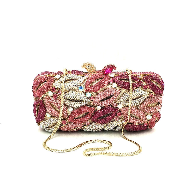 Luxury Crystal Clutch