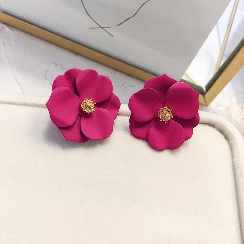 Metal Stud Earrings