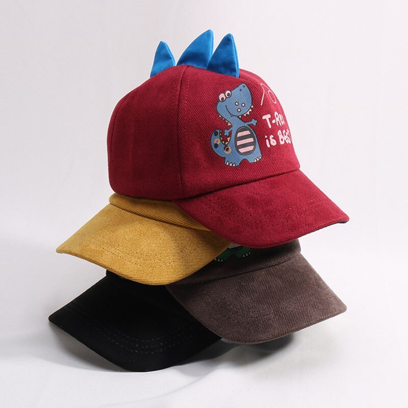 Cartoon Dinosaur Baseball Cap