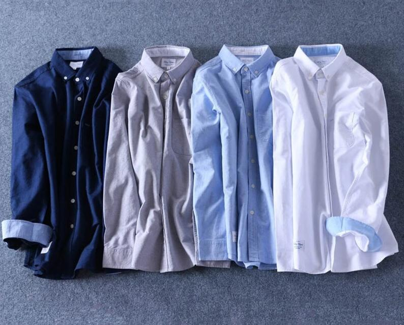 100% Cotton Oxford Shirt