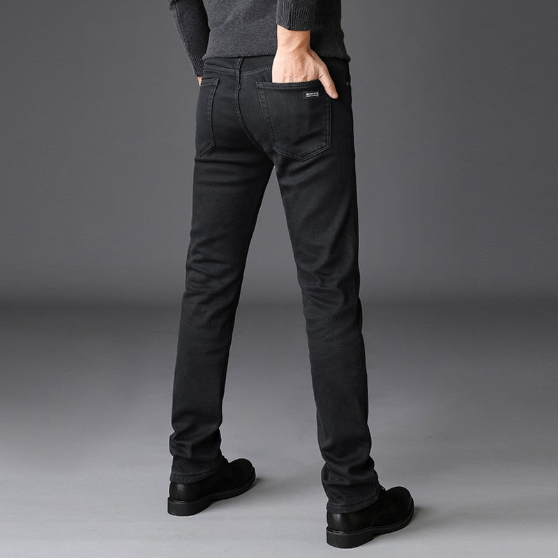 Straight Smart Casual Stretch Jeans