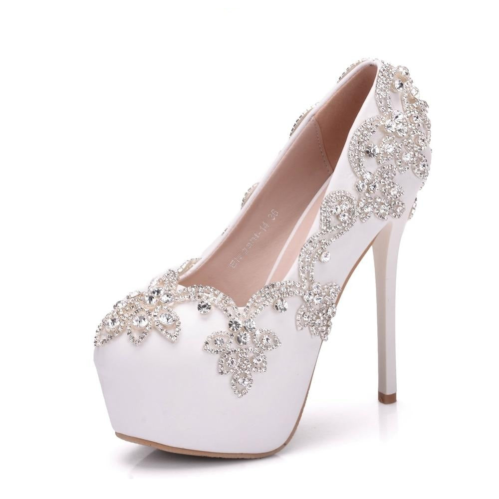 Crystal Rhinestone Party Shoes