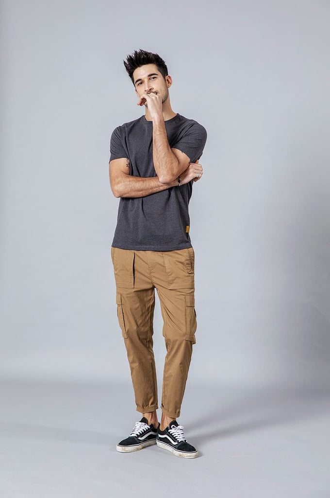 Ankle-Length Cargo Pants