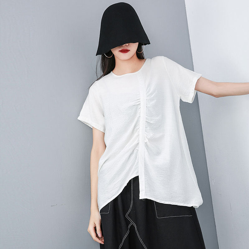 Round Neck Short Sleeve T-shirt
