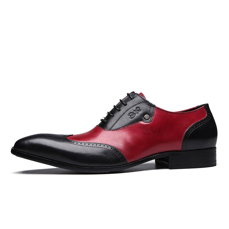 Modern Genuine Leather Oxfords