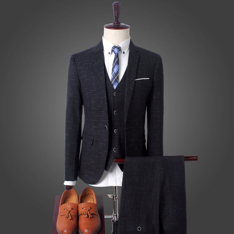 3 Piece Slim Fit Suit