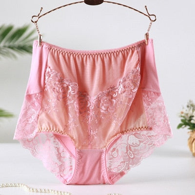 High Waist Transparent Panties
