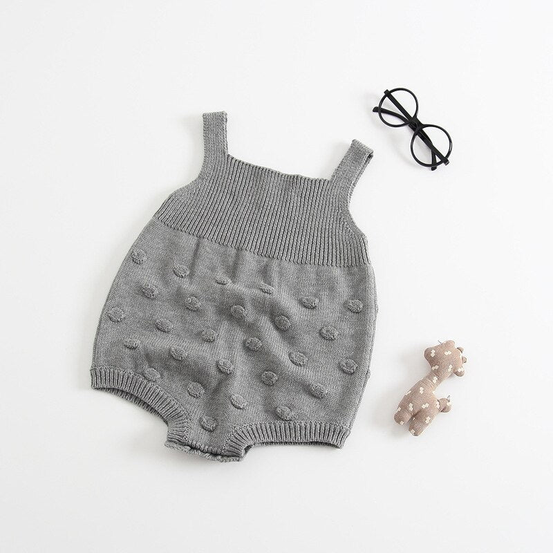 Knitted Sweater Romper