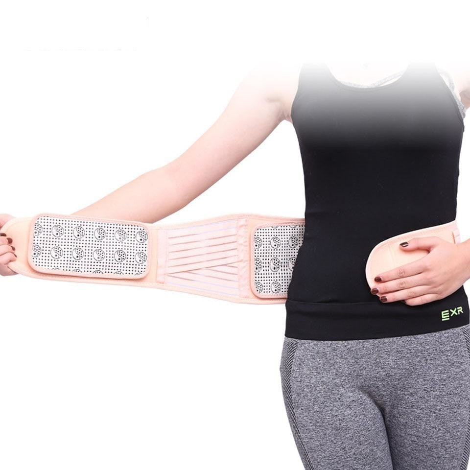 Self-heating Magnetic Waist Back Support
