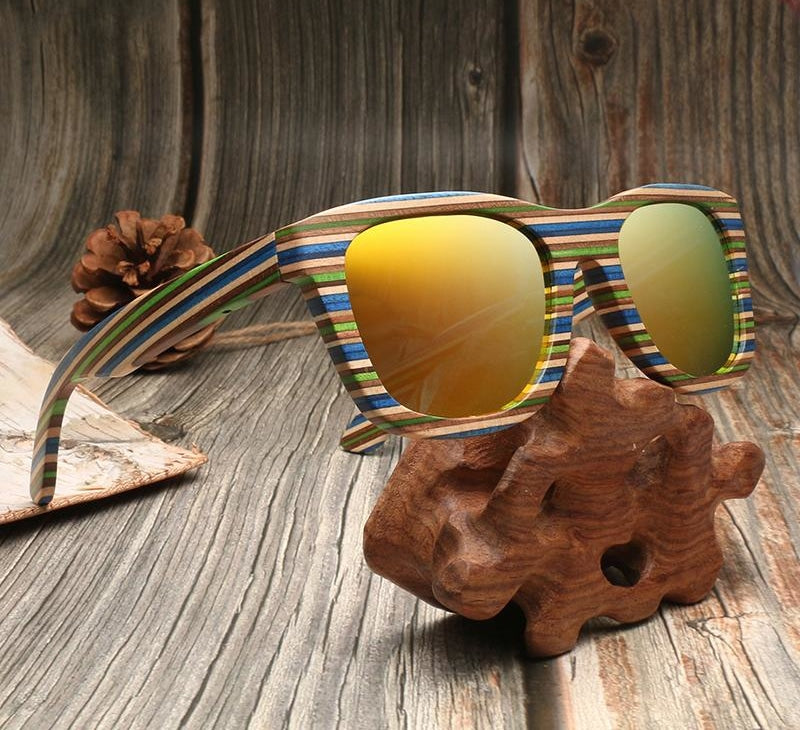 Handmade Wooden Polarized Sunglasses