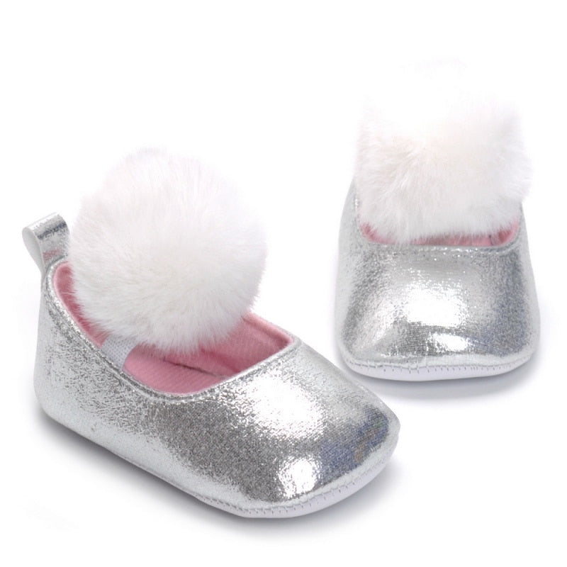 Princess Soft Sole First Walkers Shoes