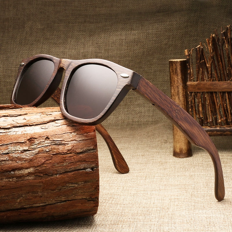 Hand Made Wooden Polarized Sunglasses