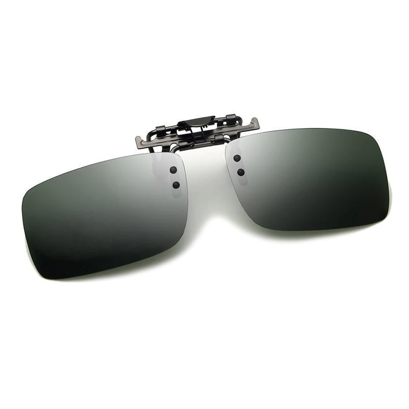 Polarized Lens Clip On Sunglasses