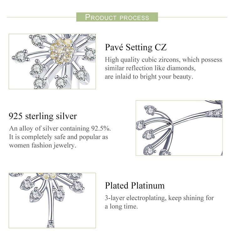 Authentic Sterling Silver Cubic Zircon Jewelry Sets