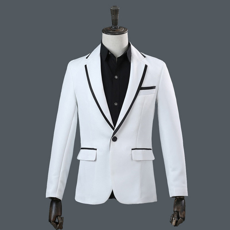 Slim Fit Single Button Suit