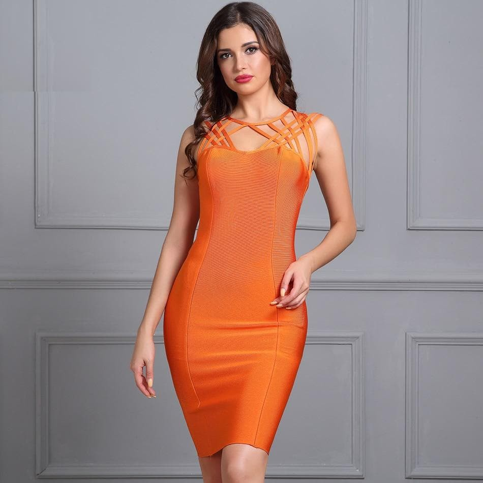 Bodycon Mini Bandage Dress