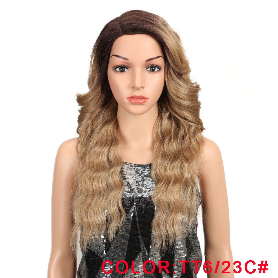 22 Inch Long Wavy Synthetic Hair