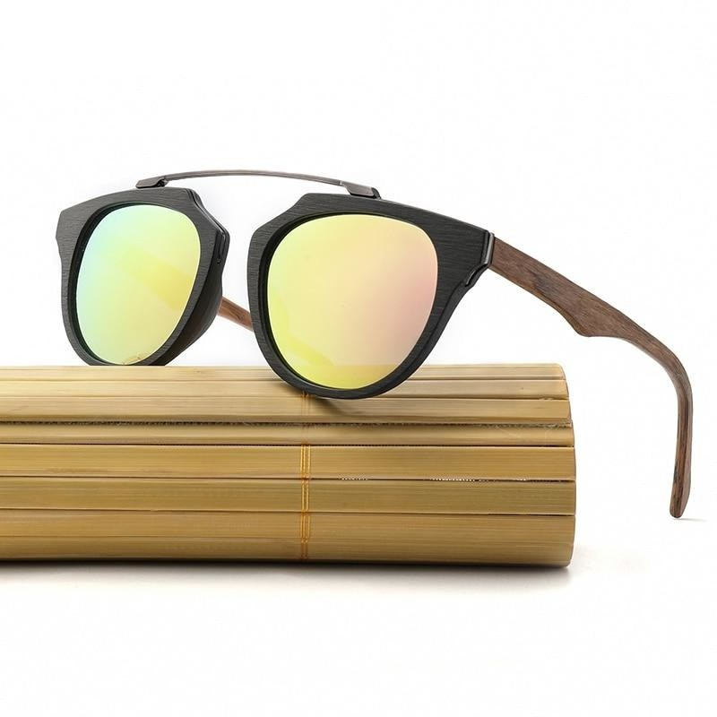 Polarized Classic Wood Sunglasses