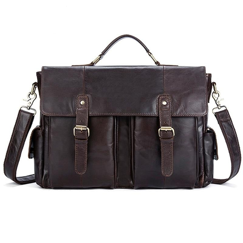 Genuine Leather Laptop Bag