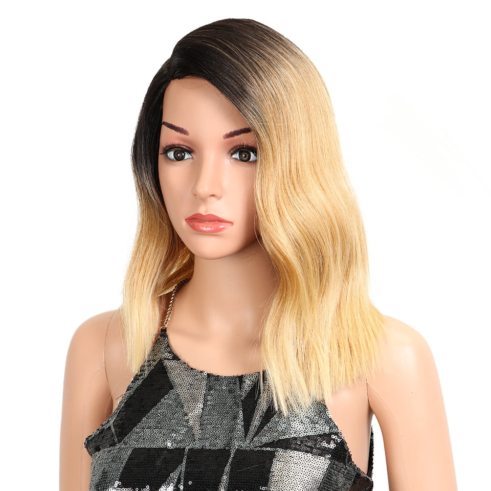 "15"" Heat Resistant Synthetic Wig"