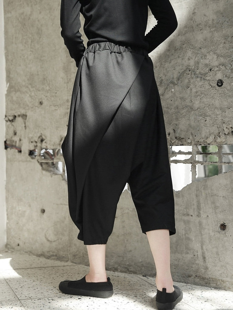 Chic High Waist Harem Pants
