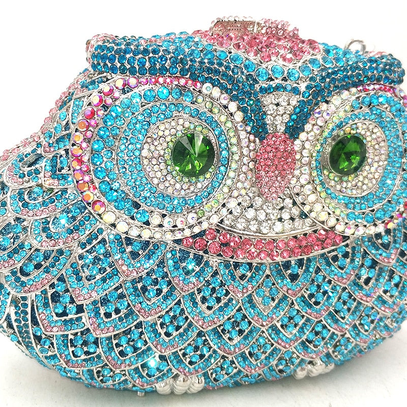 Designer Crystal Clutch