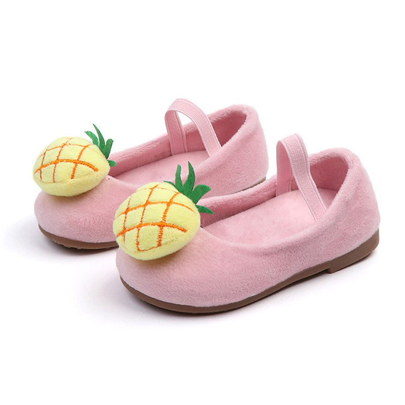 Toddler Girls Flat Party Shoes