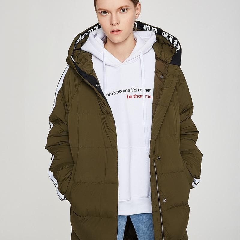 Duck Down Padded Coat