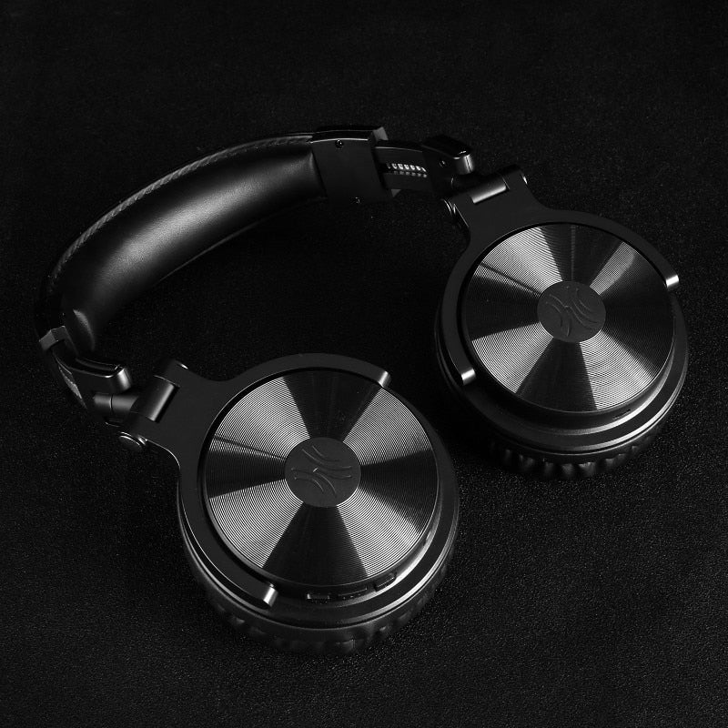 Foldable Bluetooth Headphones (Black)